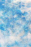 Aged old blue board snow color paint texture Royalty Free Stock Photos