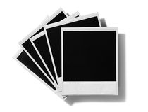 Aged Old Instant Film Blanks Royalty Free Stock Images