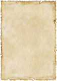Aged old paper. Old aged textured paper and background royalty free stock photo