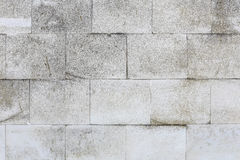 Aged Old Red White Gray Brick Wall Texture Destroyed Concrete Horizontal Background. Shabby Urban Messy Brickwall Structure. Stone Stock Photos