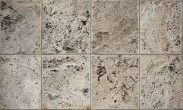 Aged dolomite limestone blocks texture. Aged old weathered rough dolomite limestone blocks texture Royalty Free Stock Image