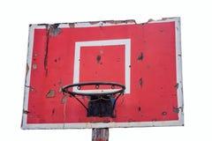 Aged outdoor basketball hoop 2 Stock Photo