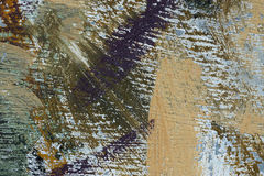 Aged paint on grunge dirty metal surface Abstract texture backgr Stock Photo
