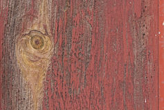 Aged Painted Red Barn Wood Background Stock Photography