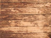 Aged panel wood background. Grungy brown aged panel natural wood background Royalty Free Stock Image