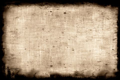 Aged paper. Background - makes a great photoshop alpha channel/layer mask Royalty Free Stock Photography