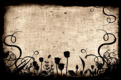 Aged paper. Background - makes a great photoshop alpha channel/layer mask Stock Images