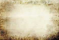 Aged paper. Background - makes a great photoshop alpha channel/layer mask royalty free illustration