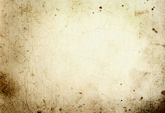 Aged paper. Background - makes a great photoshop alpha channel/layer mask Royalty Free Stock Images
