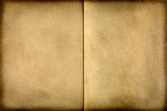 Aged paper. An excellent aged paper background stock images