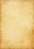Aged paper texture. Royalty Free Stock Photography