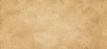 Old yellowed paper texture for background. Aged paper texture for design. Grunge paper background royalty free illustration