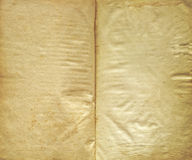 Aged Paper Texture With Copy Space Stock Photography