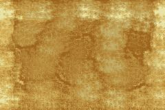 Aged parchment background with space, gold and white royalty free stock photos