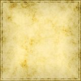 Aged parchment paper Stock Photos