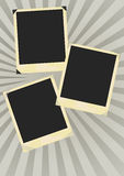 Aged Photo Frames vector illustration