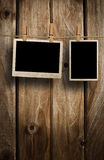 Aged photo frames Royalty Free Stock Photos