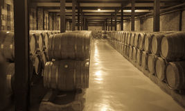 Aged photo of old winery Stock Photos