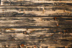 Aged plank dark and light color. wood texture Royalty Free Stock Photos