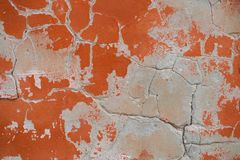 Aged plastered wall stock photography