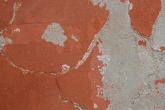 Aged plastered wall royalty free stock images