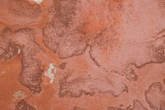 Aged plastered wall with stains royalty free stock photos