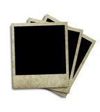 Aged Polaroid royalty free stock image