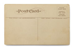 Aged Postcard Royalty Free Stock Image