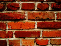 Aged red brick Stock Image