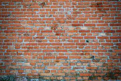 Aged red brick wall texture Royalty Free Stock Photo