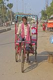 Aged rickshaw Royalty Free Stock Images