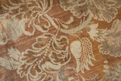 Aged rust colored denim cotton fabric Royalty Free Stock Photography
