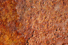 Aged rusted iron steel texture background Royalty Free Stock Photos