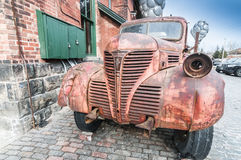 Aged rusty truck Royalty Free Stock Image
