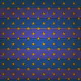 Aged seamless pattern with stars Royalty Free Stock Images