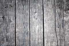 Aged silver color wooden boards background Royalty Free Stock Photos