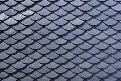 Free Aged Slate Roof Tiles Close-up Stock Photos - 160184103
