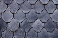 Free Aged Slate Roof Tiles Close-up Stock Image - 160184461