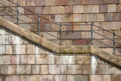 Aged stair Royalty Free Stock Photo
