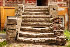 Aged staircase Royalty Free Stock Image