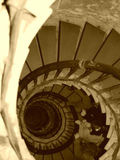 Aged Stairs Royalty Free Stock Photos