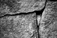 Aged stone wall background Royalty Free Stock Photography