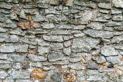 Aged stone wall Stock Image