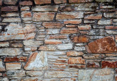 Aged stone wall Royalty Free Stock Photos