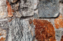 Aged stone wall Stock Photography