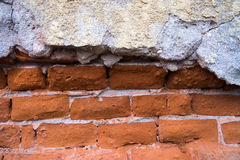 Aged street wall background. Damaged wall, best to use as background Royalty Free Stock Images