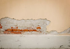 Aged street wall. Background, texture Royalty Free Stock Photos