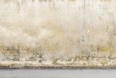 Aged street wall background Stock Image