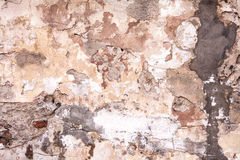 Aged street wall background, texture Stock Photography