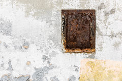 Aged street wall background, texture, paint Stock Photos